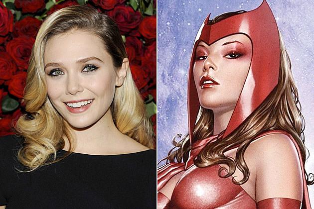 Elizabeth Olsen Scarlet Witch Avengers 2