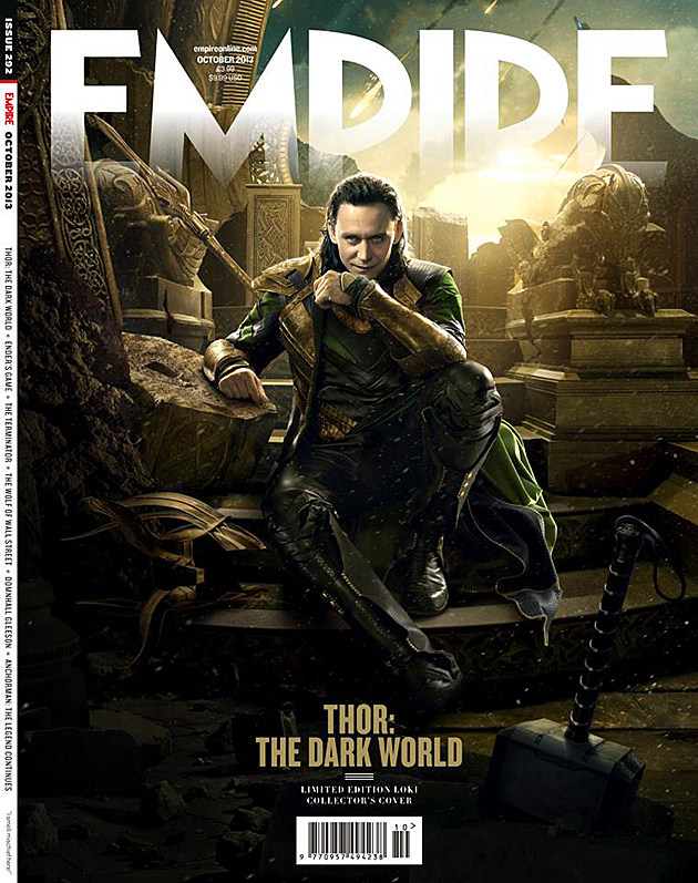 Thor 2 Empire Cover Loki