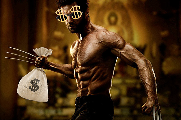 Wolverine Hugh Jackman Money