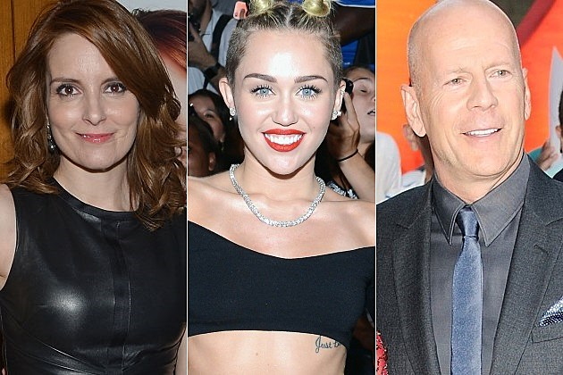 SNL Tina Fey Miley Cyrus Bruce Willis Katy Perry Season 39