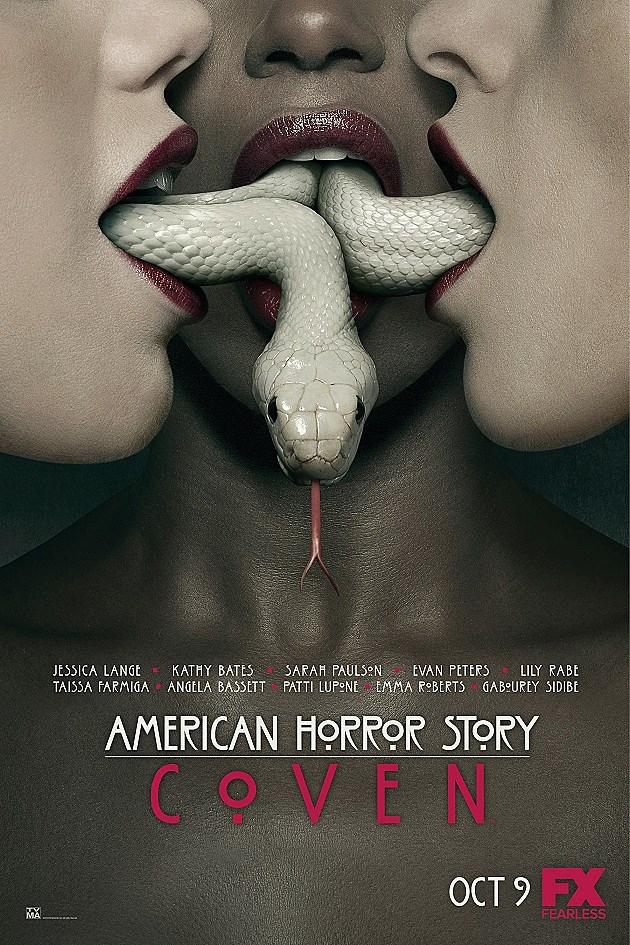 American Horror Story Coven Poster Season 3 Snakes