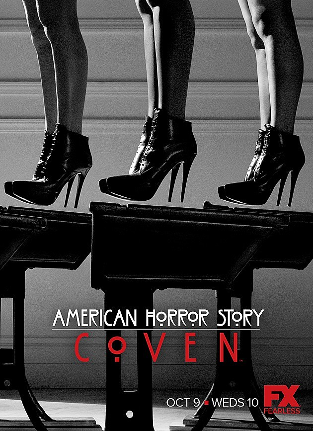 American Horror Story Coven Poster Shoes