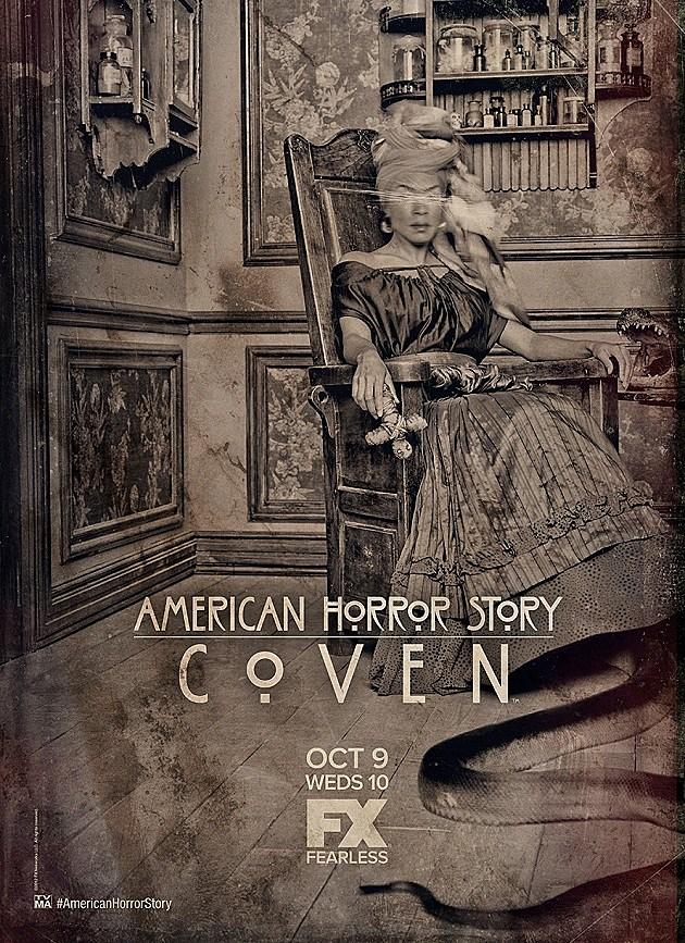 American Horror Story Coven Poster Voodoo Queen