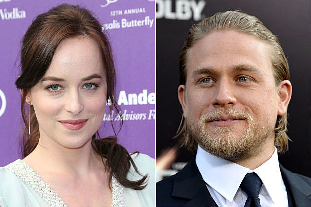 Dakota Johnson Charlie Hunnam 50 Shades of Grey