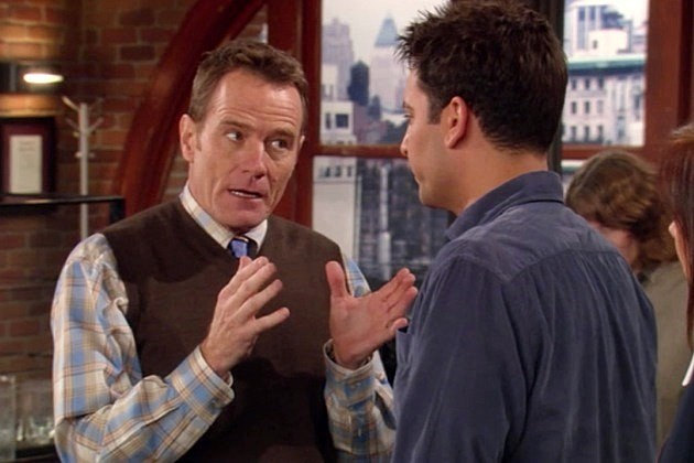How I Met Your Mother Final Season 9 Bryan Cranston Hammon Druthers