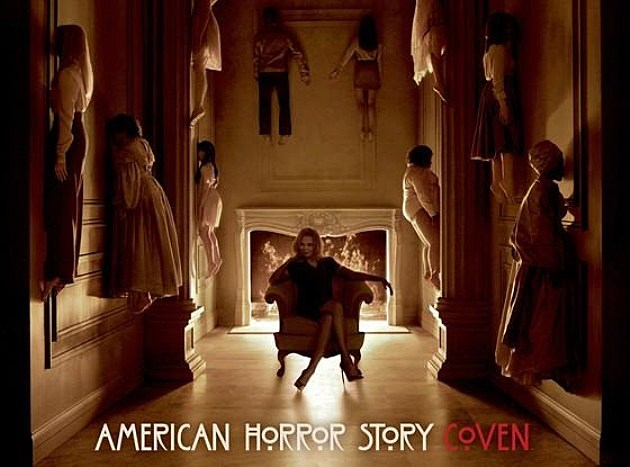 American Horror Story Coven Poster Cast