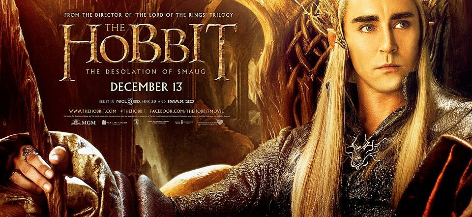 The Hobbit 2 Poster Lee Pace
