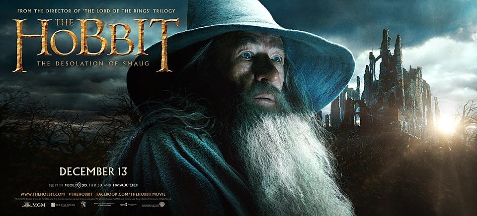 The Hobbit 2 Poster Gandalf