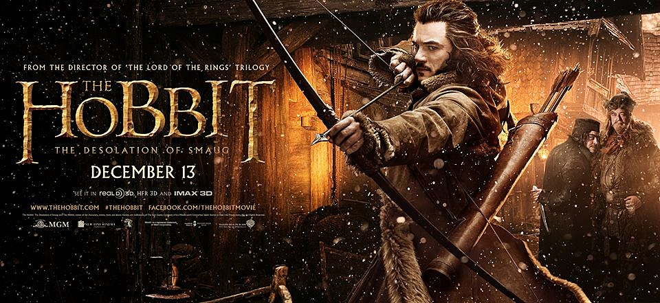 The Hobbit 2 Poster Luke Evans