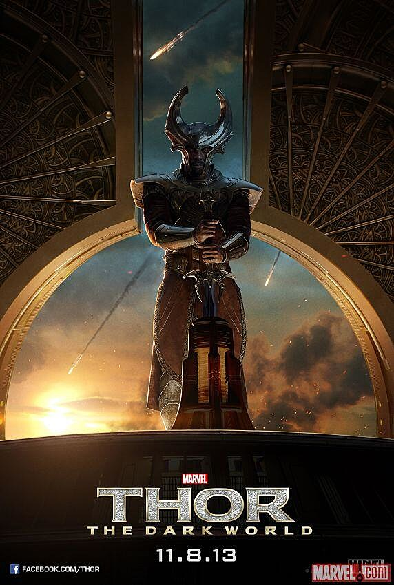 Thor 2 Poster Heimdall