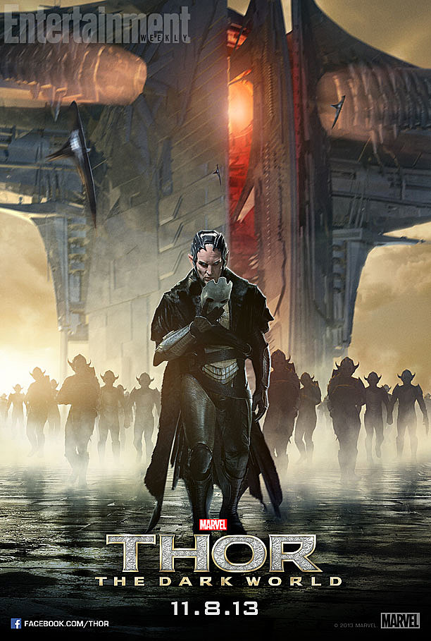 Thor 2 Poster Malekith Army