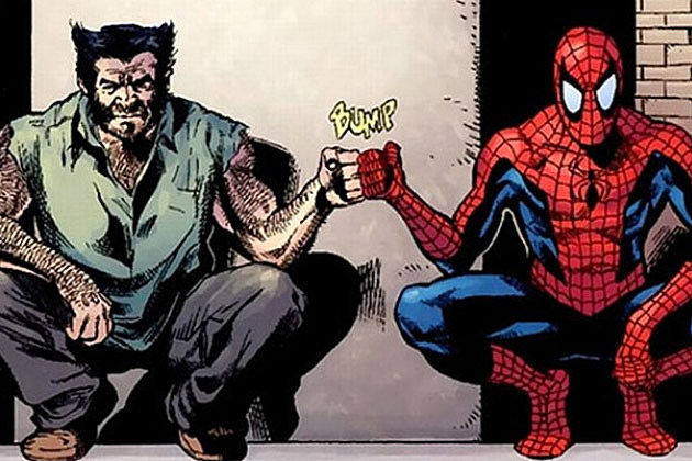 Wolverine Spider Man