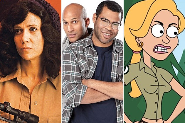 Comedy Central Key Peele Drunk History Brickleberry Renewed 2014