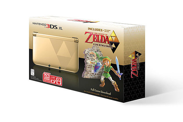Zelda 3DS XL