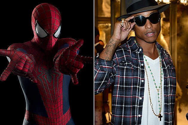 Amazing Spider-Man 2 Pharrell Williams