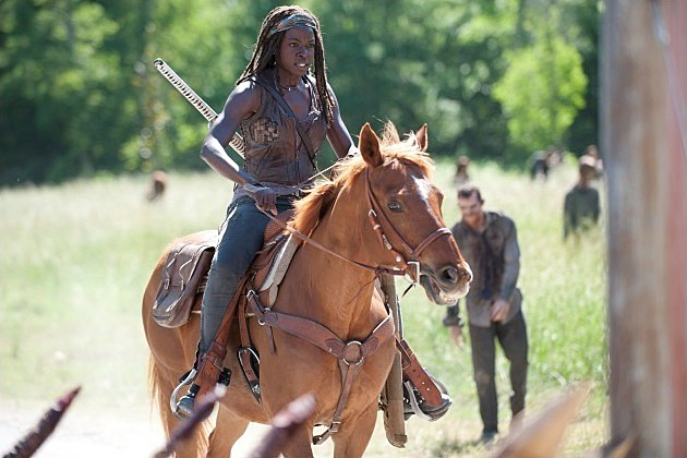 The Walking Dead Season 4 Infected Photos Michonne
