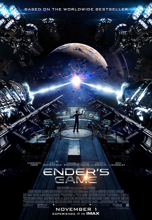 Ender's Game Poster IMAX