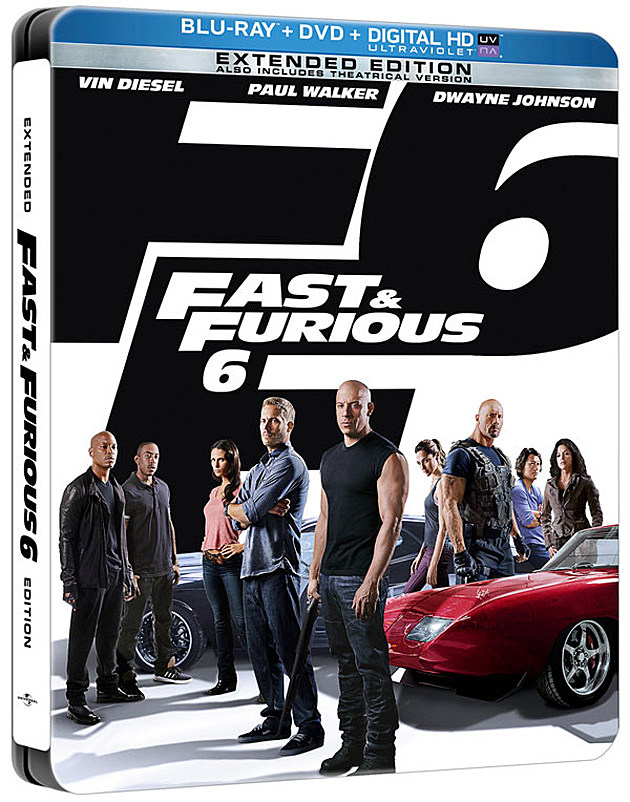 Fast and Furious 6 Blu-ray Steel Book