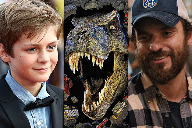 Jurassic World Ty Simpkins Jake Johnson