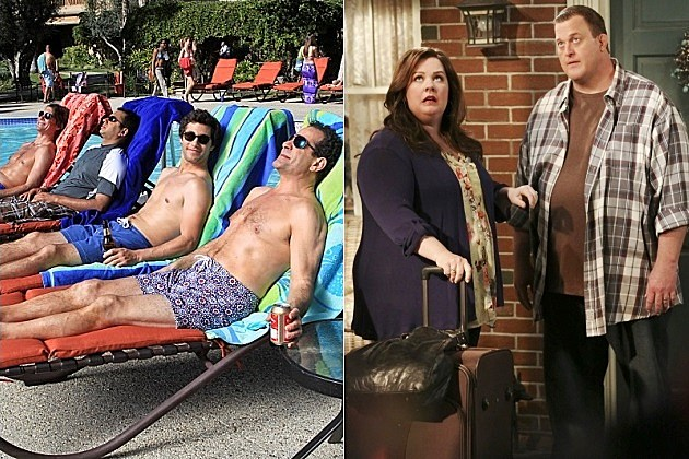 CBS We Are Men Canceled Mike and Molly Season 4