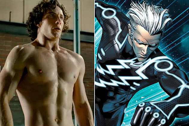 The Avengers 2 Aaron Johnson Quicksilver