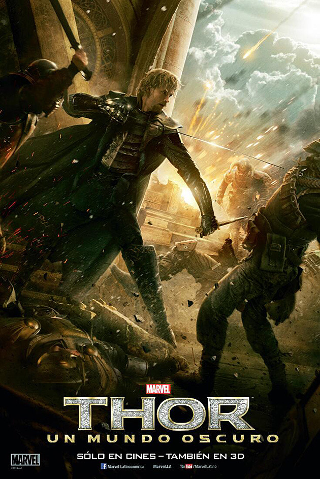Thor 2 Poster Fandral Zachary Levi