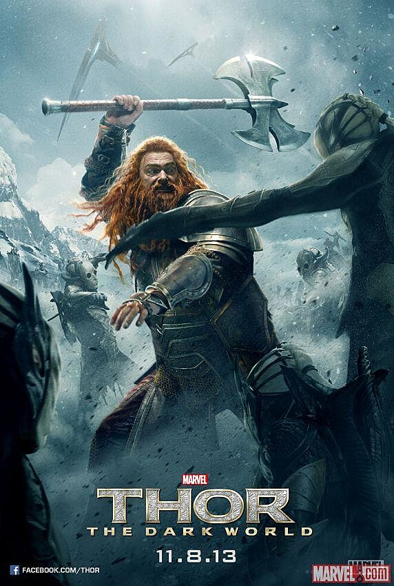 Thor 2 Poster Volstagg
