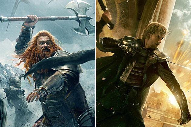 Thor 2 Posters Volstagg Fandral