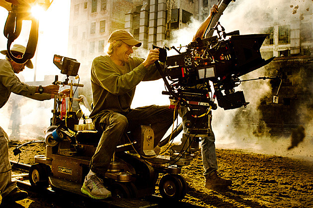 Transformers 4 Michael Bay Attacked