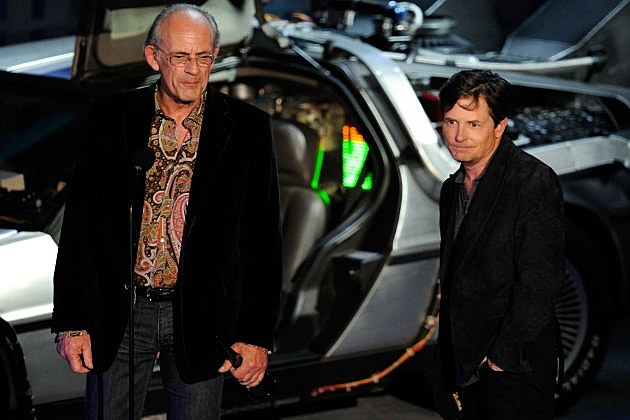 The Michael J Fox Show Christopher Lloyd Back to the Future