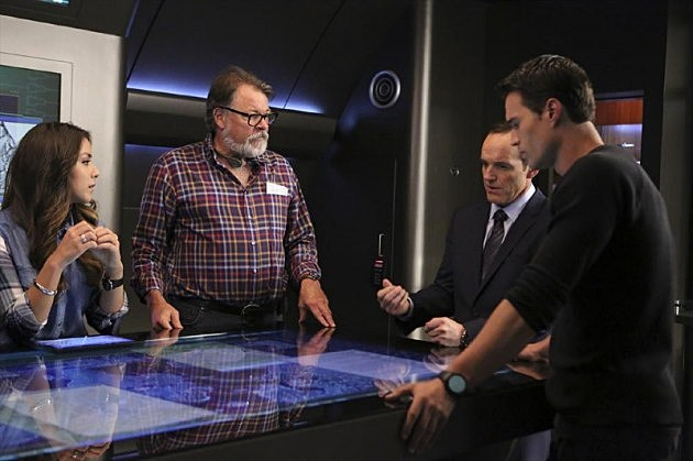 Marvel Agents of SHIELD Thor 2 The Well Photos Jonathan Frakes