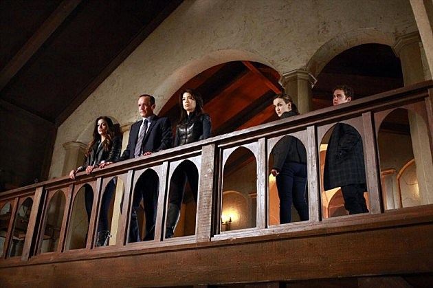 Marvel Agents of SHIELD Thor 2 The Well Photos