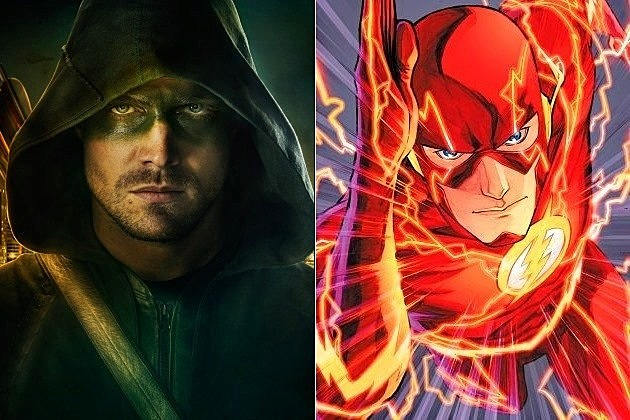 Arrow Season 2 Flash Pilot Spinoff Backdoor