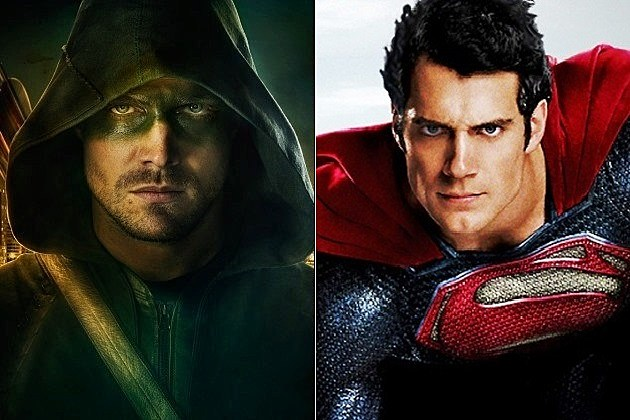 Arrow Season 2 Batman Superman DC Cinematic Continuity