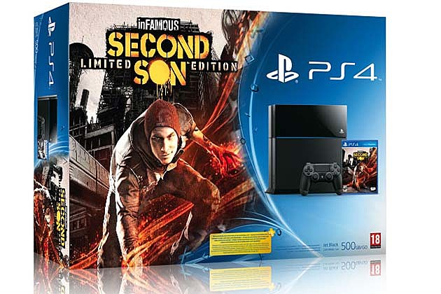 Infamous Second Son PS4 bundle