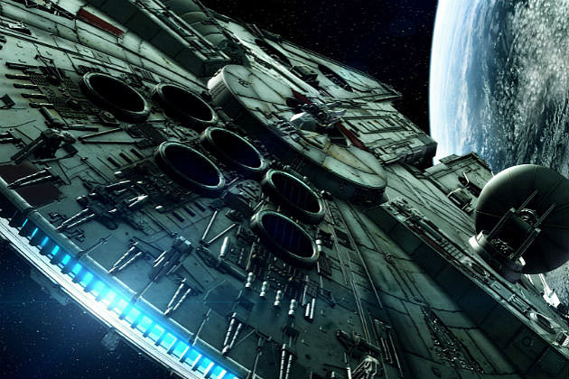 Star Wars Episode 7 Millennium Falcon