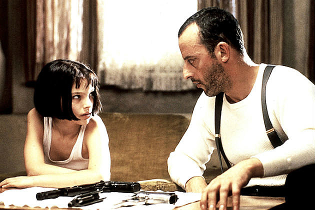 see the cast of the professional then and now