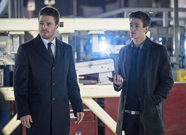 Arrow Season 2 Flash Grant Gustin Barry Allen The Scientist Photos