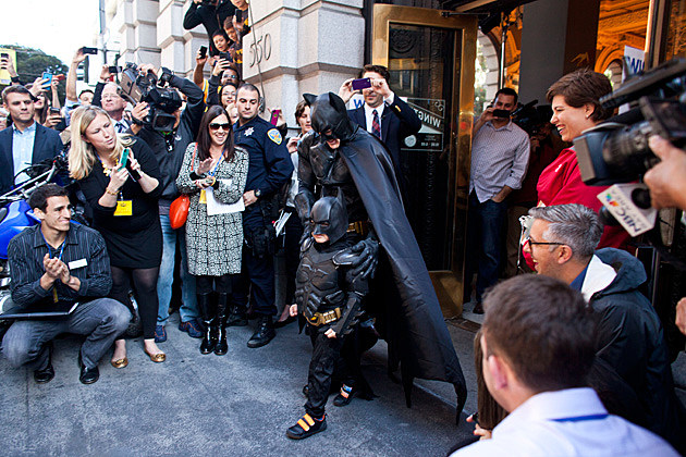 Batkid Make-A-Wish Photo