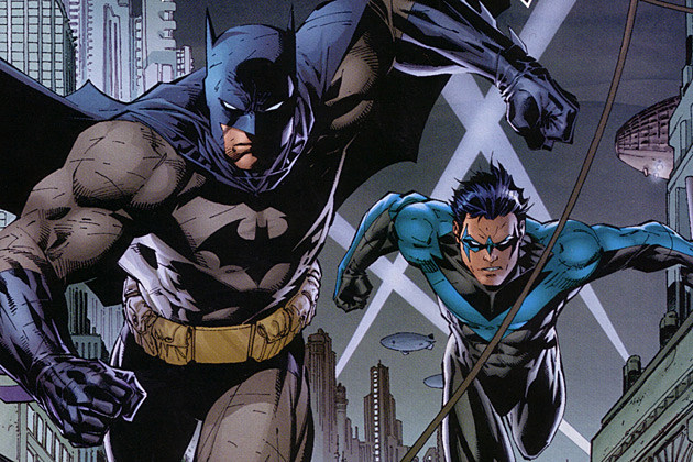 Batman vs Superman Robin Nightwing