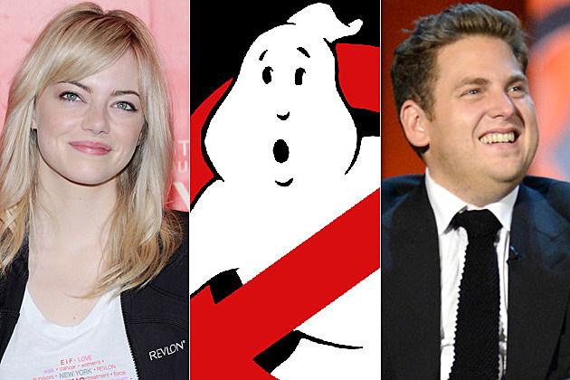 Ghostbusters 3 Emma Stone Jonah Hill