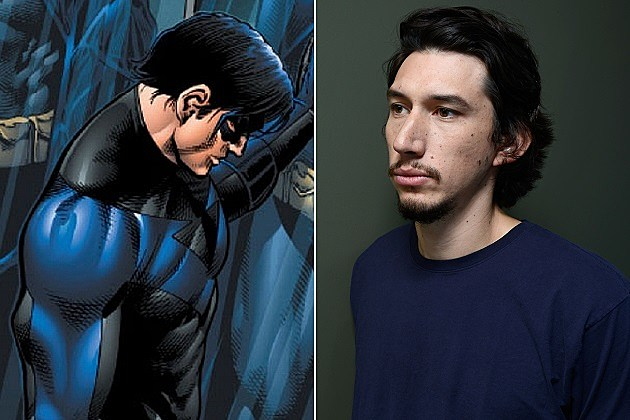 Nightwing, Adam Driver