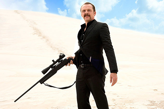 Simon Pegg Kill Me Three Times