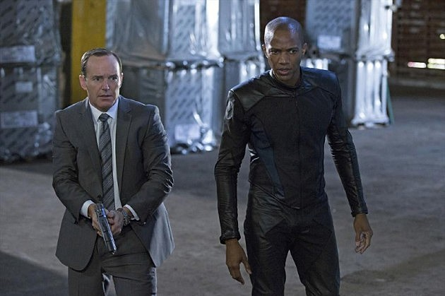 Agents of SHIELD J August Richards The Bridge Photos