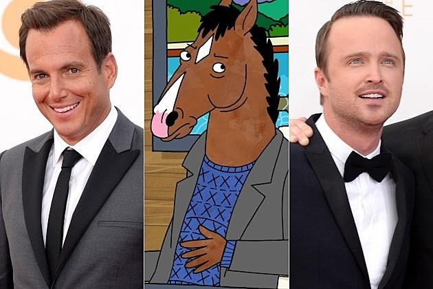 Netflix BoJack Horseman Will Arnett Aaron Paul 2014
