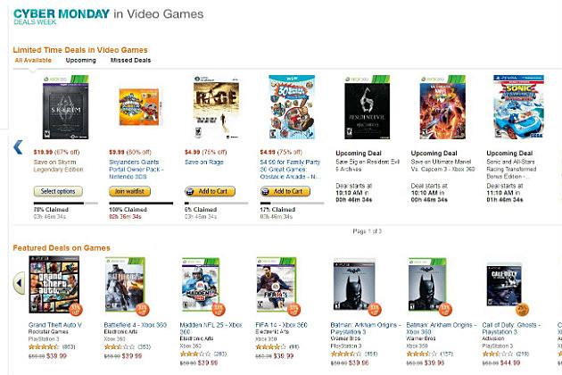 Amazon Cyber Monday 2013