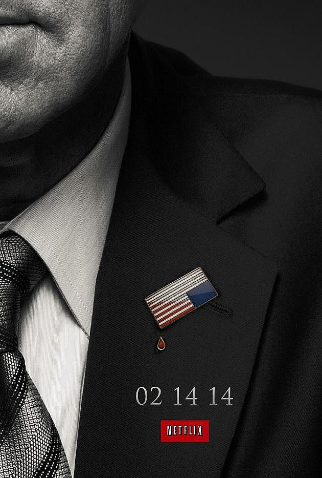 House of Cards Season 2 Poster Flag