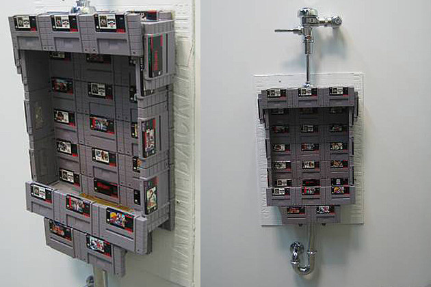 SNES Urinal