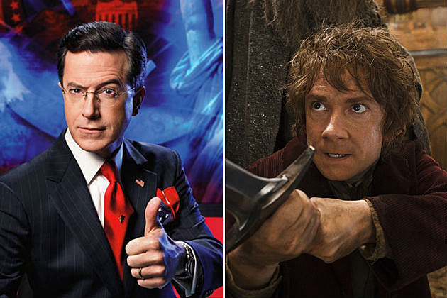 Stephen Colbert The Hobbit the Desolation of Smaug