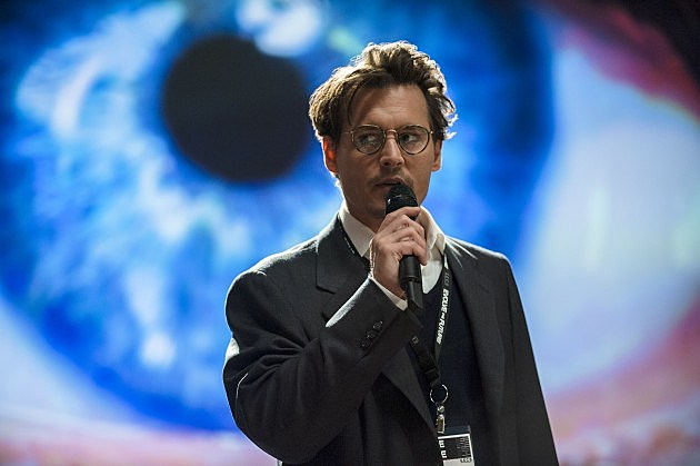 TRANSCENDENCE Photos First Look Johnny Depp